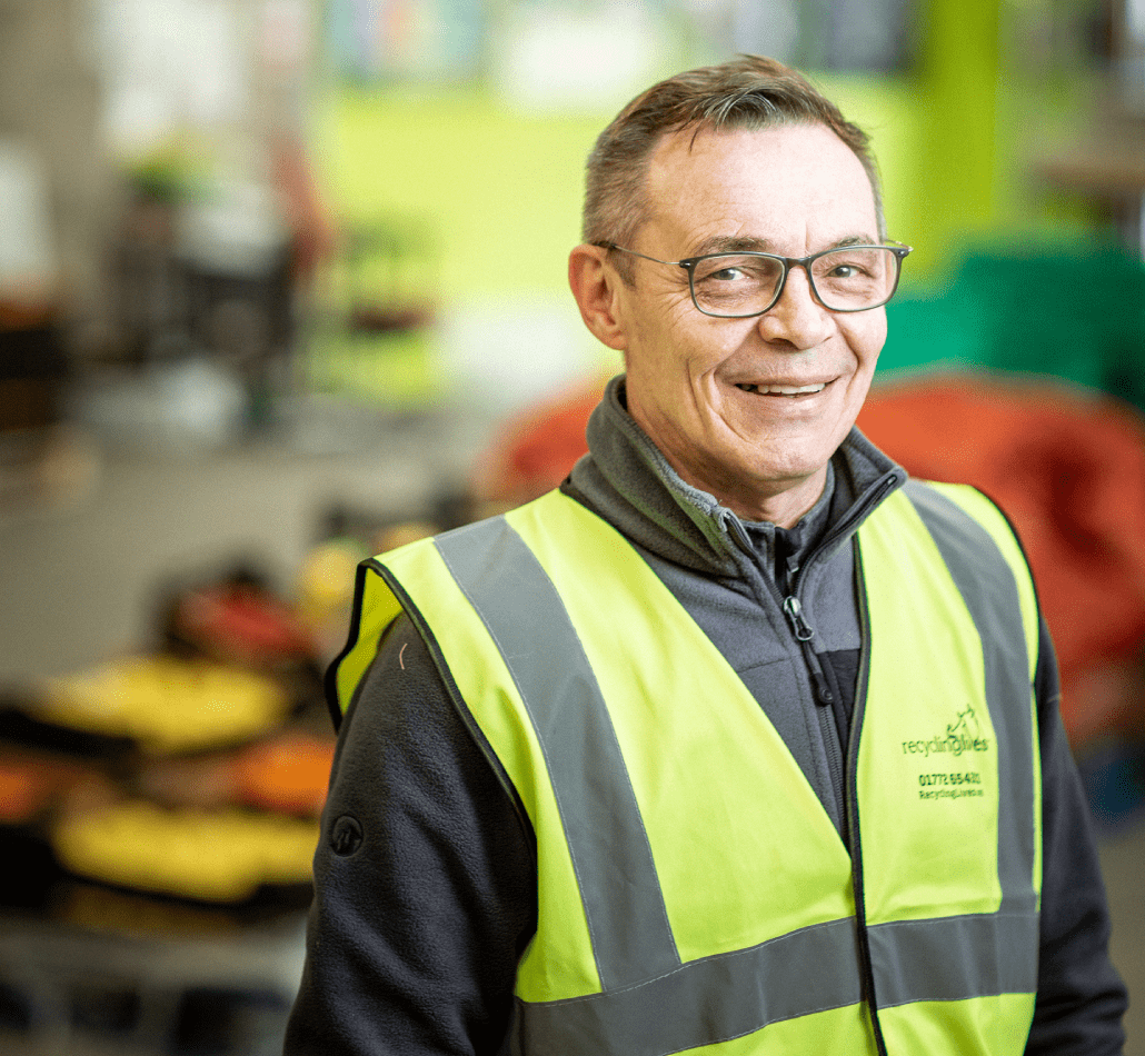 Speak to Jeff today about working with Recycling Lives